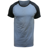 Picture of  2 Tone raglan short sleeve t-shirt