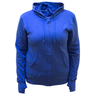 Picture of 16 Ladies Zip Hoody